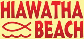 Hiawatha Beach Logo