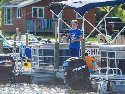 Hiawatha Beach Resort | Family Resort on Leech Lake,MN | Fishing